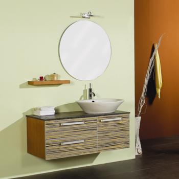 Aquarius  班馬紋大雙抽浴櫃組  66F