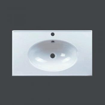 Aquarius  內圓外方一體成形面盆  AQMG9075F