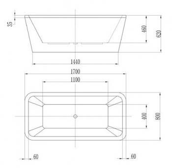 ARTO  浴缸/空缸   AR-HQ-170A