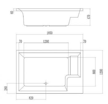ARTO  浴缸/空缸   AR-HS-185A