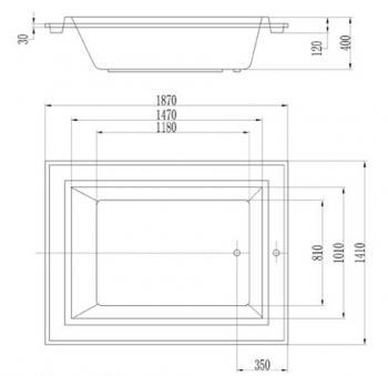 ARTO  浴缸/空缸   AR-KD-187A