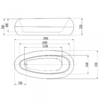 ARTO  浴缸/空缸  AR-KL-180A