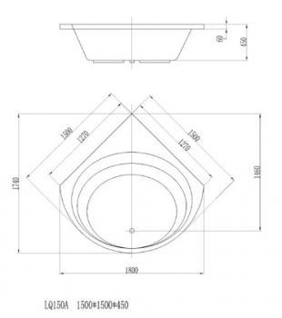 ARTO  浴缸/空缸   AR-LQ-150A