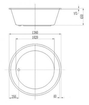 ARTO  浴缸/空缸   AR-SV-138A