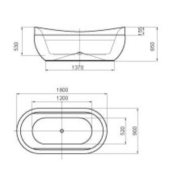 ARTO  浴缸/獨立缸   AR-YB-180B