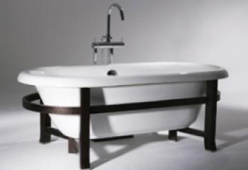 BRAVAT 古典浴缸  B25708W-B