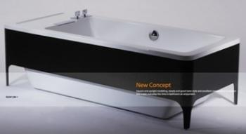 BRAVAT 立式浴缸  B25912W-1KT