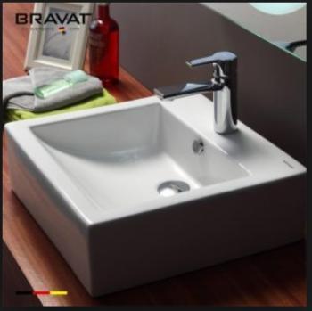 BRAVAT 臺上藝術盆 C22325W-1-ENG