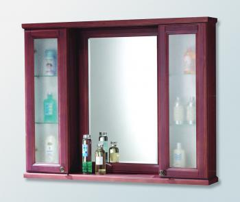 CORINS 實木雙邊櫃/實木框明鏡  CL-100M