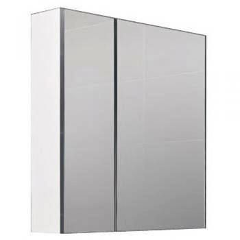 CORINS  亮鉻色鋁封邊鏡箱櫃(含燈)  DR-70R_DR-70TR