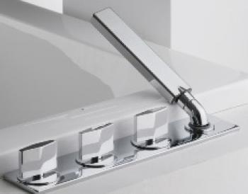 BRAVAT 四件式浴缸龍頭  FB62969C-1_FS105C