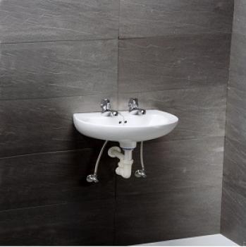 凱撒衛浴 壁掛式面盆 L2145DH-B105CD