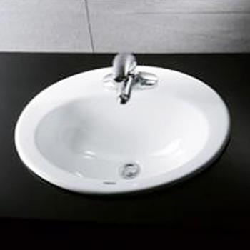 凱撒衛浴 嵌入式上嵌面盆 L5018D-B152C