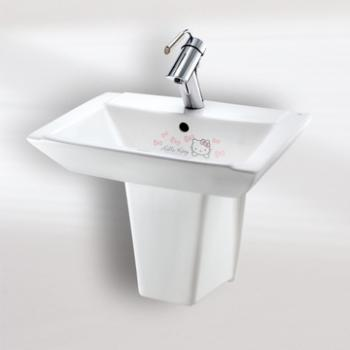 HCG 和成衛浴 壁掛式短柱腳面盆 LF259SR(KT)-920(KT)