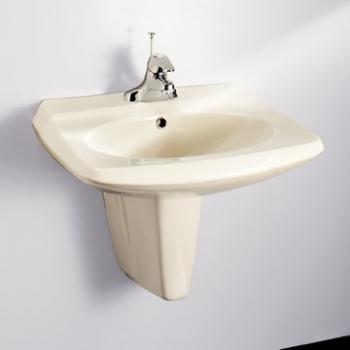HCG 和成衛浴 壁掛式短柱腳面盆 LF320-3199