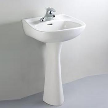 HCG 和成衛浴 壁掛式長柱腳面盆 LF351-3199