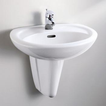 HCG 和成衛浴 壁掛式短柱腳面盆 LF367SR-4330N