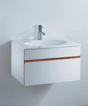 凱撒衛浴  一體瓷盆浴櫃組  LF5024A_B210C