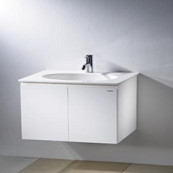 凱撒衛浴  一體瓷盆浴櫃組 LF5024C_B224C