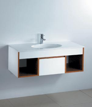 凱撒衛浴  一體瓷盆浴櫃組  LF5028A_B305C