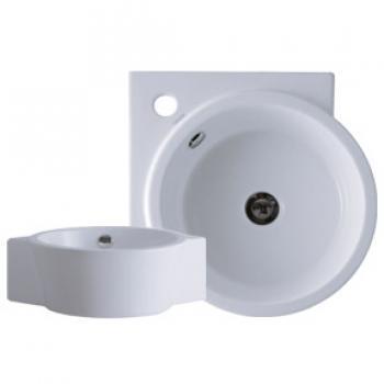 凱撒衛浴 檯面式立體角落盆面盆 LF5238