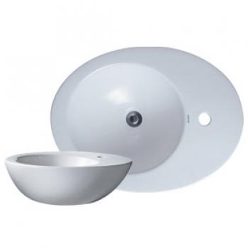 凱撒衛浴 檯面式蛋型立體面盆 LF5242