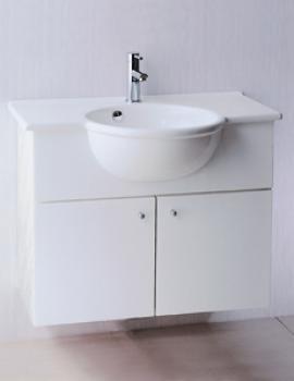 凱撒衛浴  檯面式瓷盆浴櫃組  LF5306_EH180