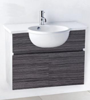 凱撒衛浴  檯面式瓷盆浴櫃組  LF5306_EH180A