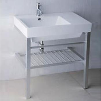 凱撒衛浴  台面式瓷盆鋁架組  LF5316_AS016