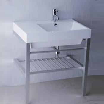 凱撒衛浴  台面式瓷盆鋁架組  LF5318_AS016
