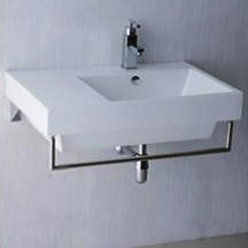 凱撒衛浴  台面式瓷盆不鏽鋼架組  LF5318_SB016