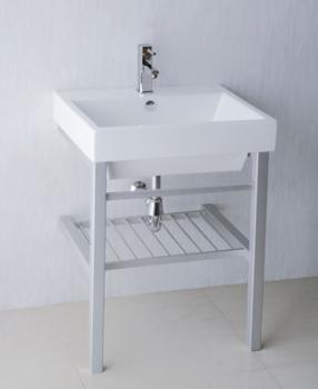 凱撒衛浴  台面式瓷盆鋁架組  LF5320_AS020