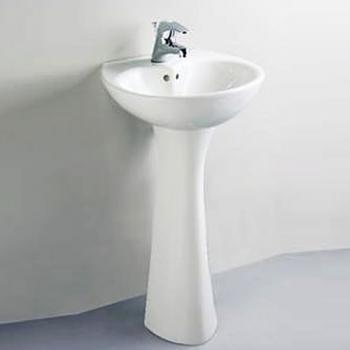 HCG 和成衛浴 壁掛式長柱腳面盆 LF957S-3188