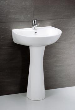 凱撒衛浴 壁掛式面盆配長瓷腳 LP2155S-B310C