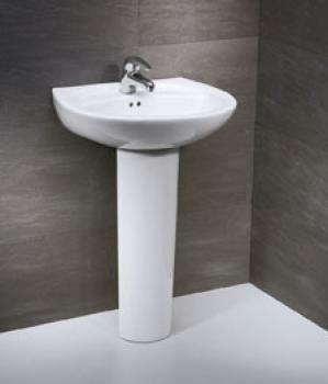 凱撒衛浴 壁掛式面盆配長瓷腳 LP2220S-B260C