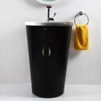 BRAVAT  錐形浴櫃_黑色  MA001K-1