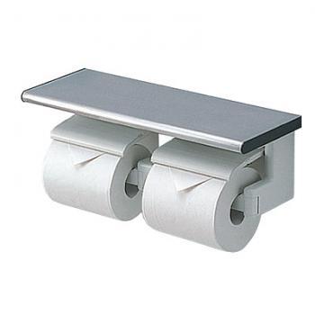 TOTO 雙連式衛生紙架(附置物架)  YH61MR