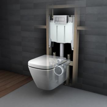 Caroma 壁掛隱藏式水箱馬桶 Cube-604300