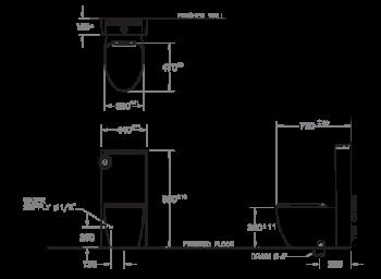 MOGEN 分體馬桶 Light MLC01-W02