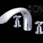 BOSS  大眼鏡蛇浴缸龍頭(三件式)  D-9822