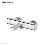 BRAVAT 掛牆式浴缸淋浴恒溫龍頭 F699153C-01